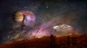 sfondo spazio by Luisa Vittadello