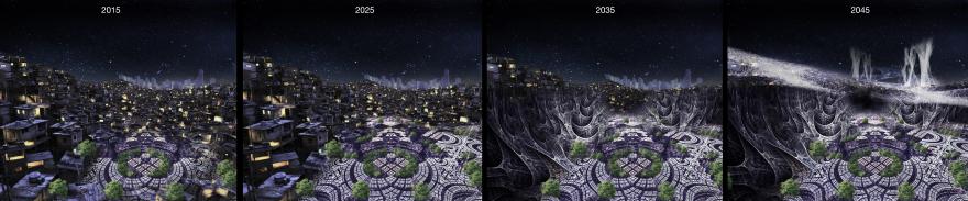 evoluzione notte by Luisa Vittadello